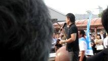 橋下維新代表 滋賀県知事こやり隆史候補者 応援演説 2014/07/12 近江八幡