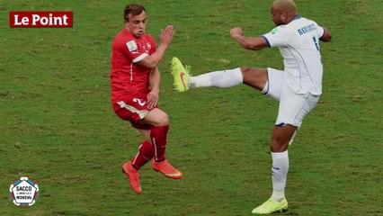 Et le joueur le plus violent du Mondial, vainqueur du Bucheron d'Or, est...