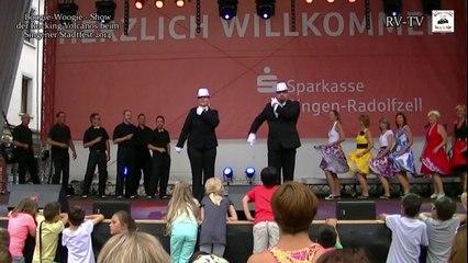 Teil4 Singener Stadtfest 2014 Rocking Volcanos Show - Regina & Peter
