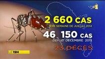 2014/07/11 18h58 Jt RFO ► Déjà 23 Morts Épidémie du Chikungunya en Martinique Victimes du Moustique-Tigre +2.660 Nouveaux-Cas cette Semaine +46.150 depuis Décembre +100.000 aux Antilles-Françaises (Info Guadeloupe: 0590.901313) Toujours pas de Vaccin