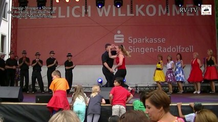 Teil6 Singener Stadtfest 2014 Rocking Volcanos Show - Sonja & Martin