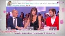 Public Zap : Les adieux émouvants de Doria Tillier, (l'ex) miss météo du Grand Journal !
