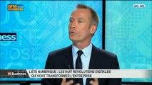 L'été numérique: les huit révolutions digitales qui vont transformer l'entreprise: Thierry Jadot, dans 01Business - 12/07 1/4