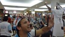Rolezinho de argentinos - Shopping Praia de Belas - Porto Alegre RS