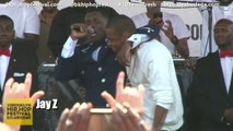 "Jay Z Joins Jay Electronica For ""Young Gifted & Black"" at The Brooklyn Hip Hop Festival"