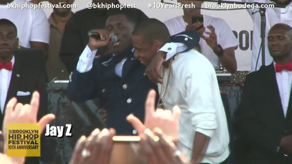 """Jay Z Joins Jay Electronica For """"Young Gifted & Black"""" at The Brooklyn Hip Hop Festival"""