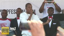 "Jay Z and Jay Electronica - ""We Made It"" at Brooklyn Hip Hop Festival"