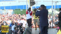 Jay Electronica, Talib Kweli, and J.Cole Perform Just Begun at the 2014 Brooklyn Hip-Hop Festival