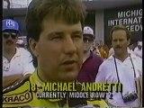 CART 1988 R09 Michigan 500 Qualifying ESPN