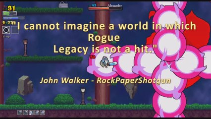 Launch Trailer de Rogue Legacy