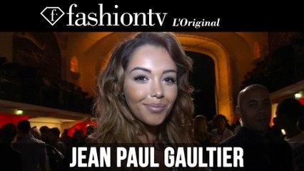 Gaultier Front Row ft Baz Luhrmann, Louise Bourgoin | Paris Couture Fashion Week | FashionTV
