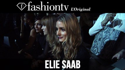Elie Saab Couture Front Row ft Olivia Palermo | Paris Couture Fashion Week Fall 2014 | FashionTV