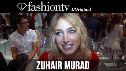 Zuhair Murad Couture Front Row ft Pauline Lefevre | Paris Couture Fashion Week Fall 2014 | FashionTV