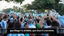 L'hymne chambreur des supporters argentins au Brésil !