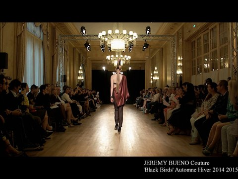 Jeremy Bueno Couture Collection Black Birds Hiver Winter 2014 2015