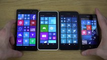 Nokia Lumia 930 vs. Nokia Lumia 635 vs. Nokia Lumia 630 vs. Nokia Lumia 520 - Which Is Faster