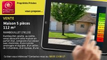 A vendre - maison - RAMBOUILLET (78120) - 5 pièces - 112m²