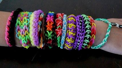 Workshop Rainbow Loom bandjes maken / Hellevoetsluis 2014