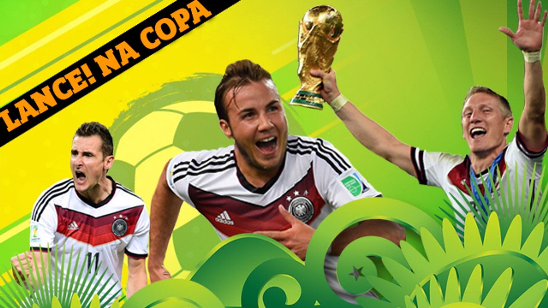 Craques, título... Será que a Alemanha é o novo país do futebol?