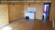 A vendre - appartement - LAON (02000) - 3 pièces - 55m²