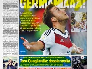 CALCIOINFO - Rassegna stampa 14-07-2014