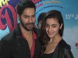 Varun Dhawan And Alia Bhatt Visit Multiplex
