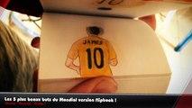 Robben, Rodriguez, Van Persie... Les 5 plus beaux buts du Mondial version flipbook !