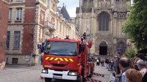 Simulation intervention pompiers