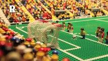 Brazil vs Croatia _ World Cup 2014 _ Brick-by-brick