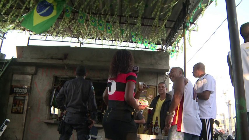 Mondial: la favela de Mangueira dresse un bilan positif