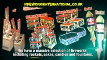 Beautiful Fireworks Display by Fireworks International