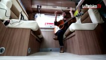 Francofolies : « Portrait chinois » par Bensé dans notre camping car