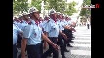 Les sapeurs-pompiers de l'Oise ont défilé sur les Champs-Elysées