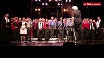 Landerneau. Les chorales chantent l'hymne breton