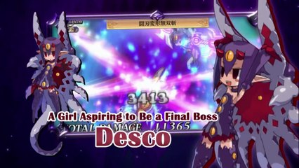 Second English Trailer de Disgaea 4 : A promise Revisited