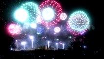 Feu d'artifice Carcassonne 14 juillet 2014