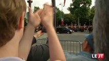 2014/07/14 Jt Canal+► 10 Français Arrêtés Incarcérés pour avoir Hué Sifflé leur Président République François HOLLANDE Défilé Champs-Élysées Paris Commémoration 14 Juillet 2014-1789 Prise Bastille 1790 Fête Fédération Prison Date Jour Réconciliation Unité