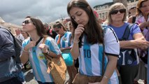 Argentina's Gutsy World Cup Team Is Welcomed Home