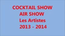 Cocktail Show AIR SHOW -Artistes 2013 2014 - Juillet 2014