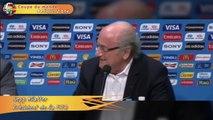 Mondial 2014: Sepp Blatter «surpris» par le titre de meilleur joueur de Lionel Messi