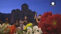 Disastro aereo: Kiev rende omaggio alle vittime