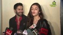 Varun Dhawan & Alia Bhatt Promotes Humpty Sharma Ki Dulhania @ Cinemax !