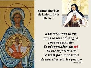 4. Prier avec l'icône de Notre Dame du Mont-Carmel