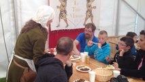 Taverne médiévale et troubadours