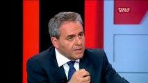 """Réforme territoriale: Xavier Bertrand: """"Je suis pour le rattachement entre la Picardie et le Nord-Pas-de-Calais"""""""