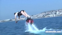 On a testé le flyboard à Nice