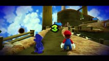 Super Mario Galaxy - Bois d'automne - Étoile 4 : Devance ton double aux bois d'automne !