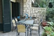 ground floor for rent in Sarayat EL Maadi with privet garden privet entrance Laundry Quite and green area in compound