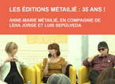 Comédie du Livre 2014 - Les éditions Métailié : 35 ans