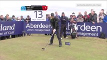 Amazing golf shot : Rory McIlroy Hit a 436 Yard Drive at the Scottish Open